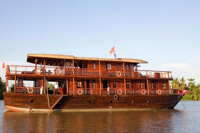 Tour du thuyền Mê Kông - Du thuyền Sài Gòn - Tây Nam Bộ